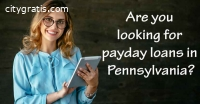 Payday Loan in Pennsylvania (PA)
