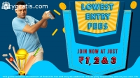 Play Fantasy Cricket League - Real 11