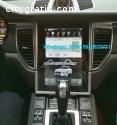 Porsche Macan radio GPS android Vertical