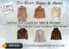 Pre Owned Fur Coats for men Scottsdale