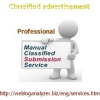 Professional Classified Ad Submission Services