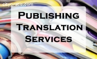 Publishing translation services