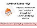 Purchase SoundCloud Plays