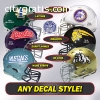 Quality Football Helmet Decals