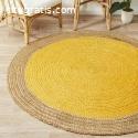 Rectangle Carpets | Hand Woven Jute & Co