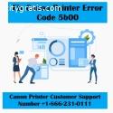 Repair Canon Printer Error Code 5b00  +1