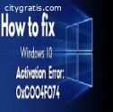 Resolve Activation Error code 0xc0004f07