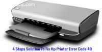 Resolve Hp Printer Error Code 49