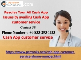 Resolve Your All Cash App Issues by avai
