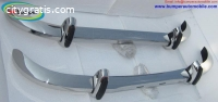 Saab 96 bumper (1965–1970) by stainless