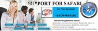 Safari Browser Support | 800-463-5163