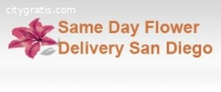 Same Day Flower Delivery San Diego CA -