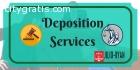 Schedule A Deposition in Tustin, CA