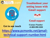 setting issues with Gmail support