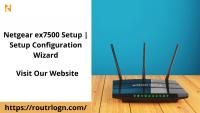 Setup Netgear ex7500 Extender: routrlogn