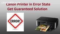 Solution of Canon Printer in Error State