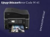 Epson Printer Error Code W-61