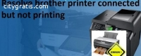 Solve Brother Printer Connected But Not