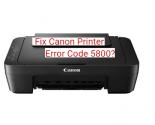 Steps To Fix Canon Printer Error Code 58