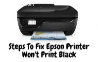Steps To Fix Epson Printer Won't Print B
