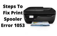 Steps To Fix Print Spooler Error 1053