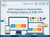 Still confused in choosing web designing