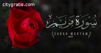 Surah Maryam is the 19th chapter of the