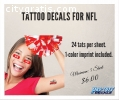 Tattoo Decals for NFL