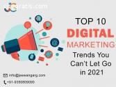 Top 10 Digital Marketing Trends You Cann