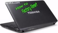 Toshiba Factory Reset 0 Not Working