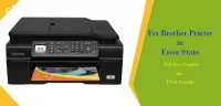Troubleshoot Brother Printer Error State