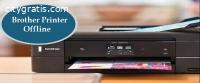 Troubleshoot Brother printer offline Pro
