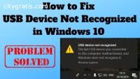 Usb Device Not Recognized Windows 10