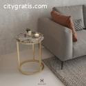 White Quartz Coffee Table