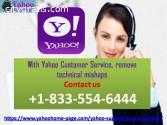 With Yahoo Customer Service