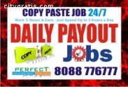 Work From home and earn Copy paste job