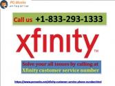 Xfinity customer service number.